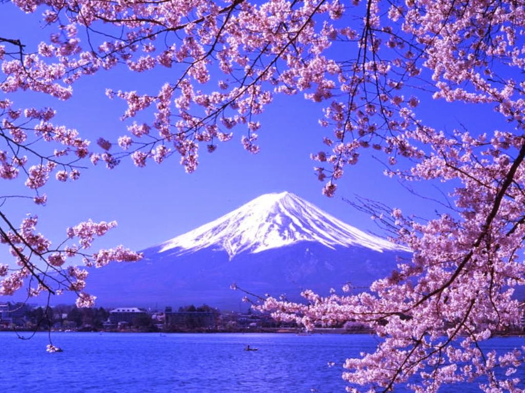 spring is In japan the