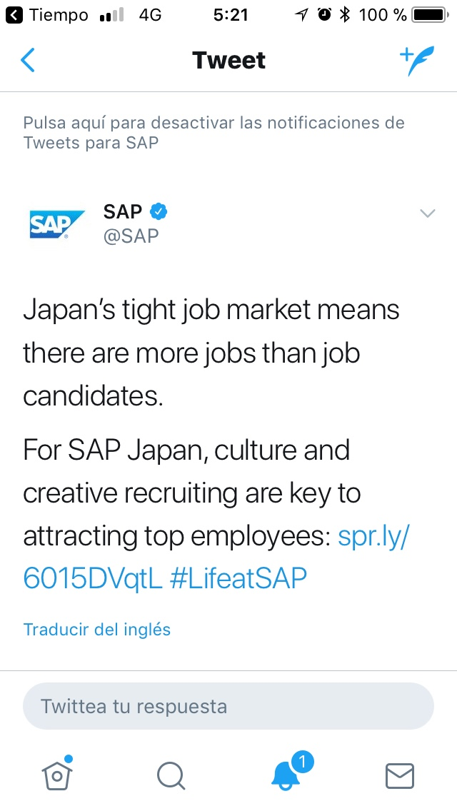 there What in japan jobs are